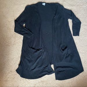 Old navy black cardigan 3X